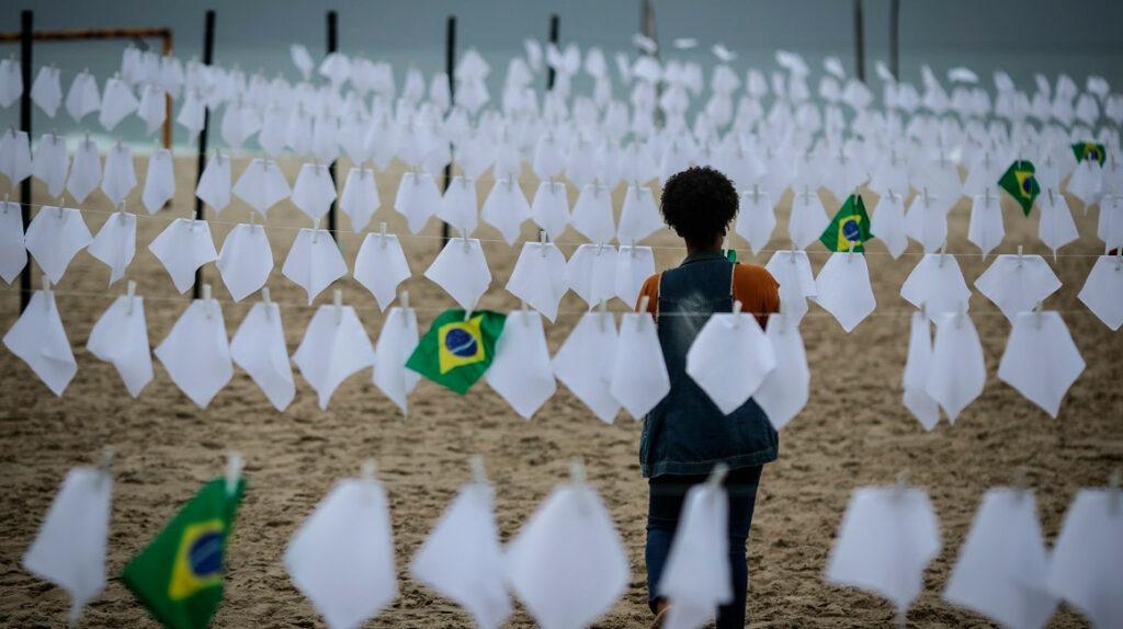 Brasil, el segundo país del mundo en superar los 600.000 muertos por Covid-19