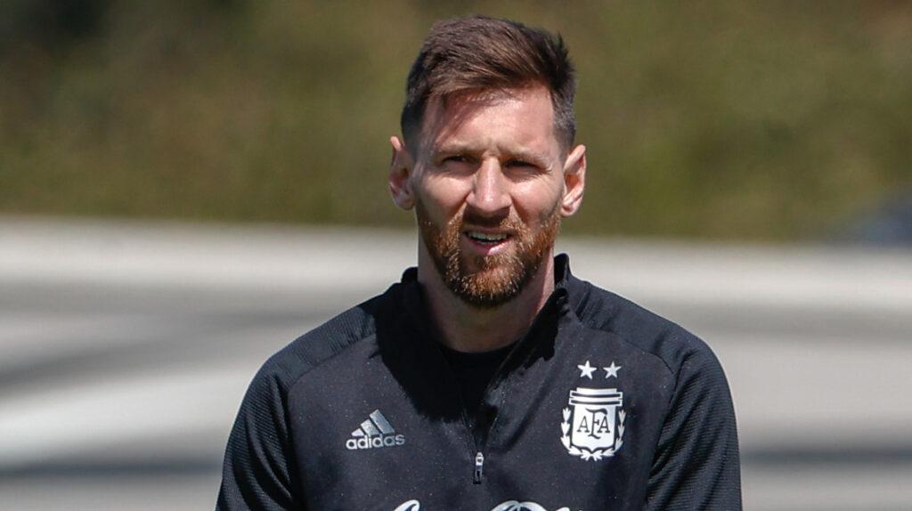 """Lionel Messi: """"Para ganar títulos importantes hay que jugar en equipo"""""""