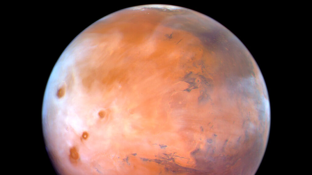 Misión espacial revela altas concentraciones de oxígeno en Marte