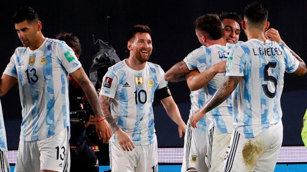 Argentina golea a Uruguay, que queda por debajo de Ecuador en la tabla