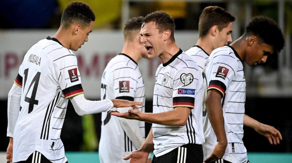 Alemania golea a Macedonia y clasifica al Mundial de Catar 2022