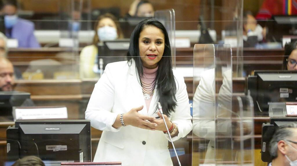 El Pleno de la Asamblea destituye a Bella Jiménez de su curul