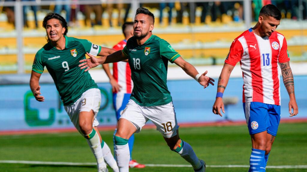 Bolivia golea a Paraguay y el resultado le beneficia a Ecuador
