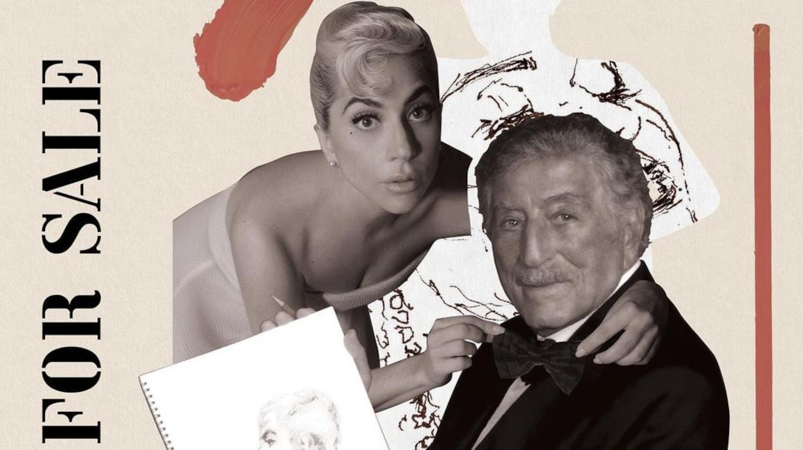 Portada del disco de Tony Bennett y Lady Gaga: 'Love for sale'.