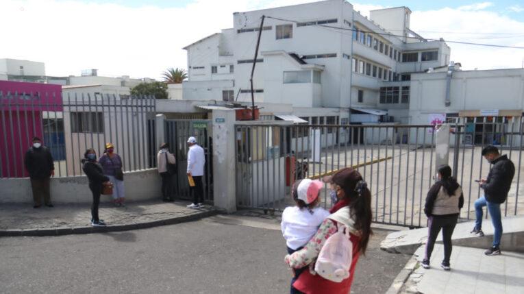 Una vista Hospital Pablo Arturo Suárez, en Quito, el 16 de septiembre de 2021.