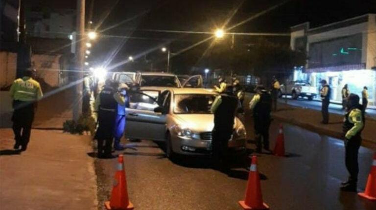 Policías y militares inician operativos bajo estado de excepción