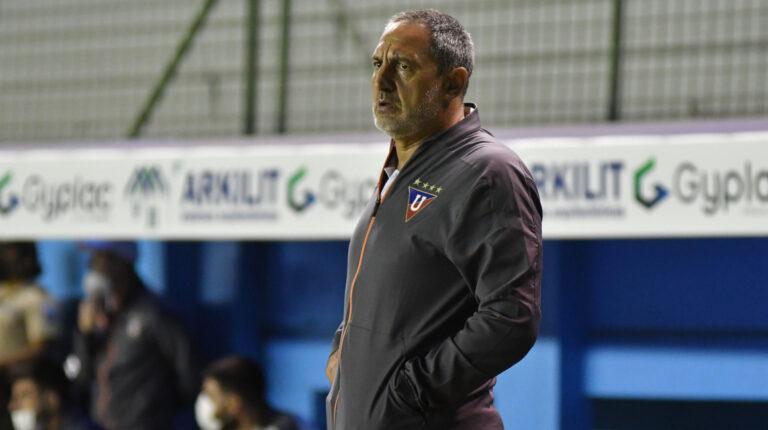 Pablo Marini fue suspendido con un partido y no dirigirá ante IDV