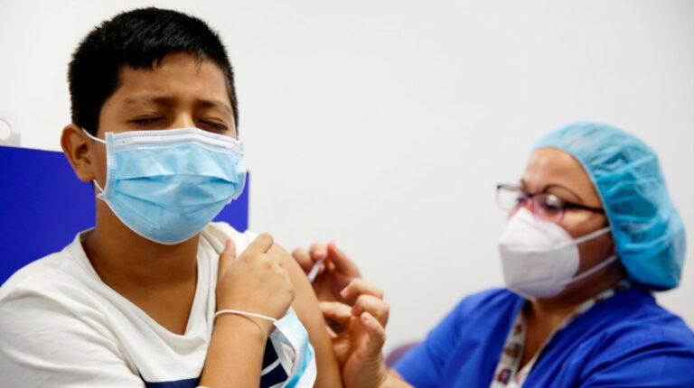Estados Unidos anuncia plan de vacunación para niños de cinco a 11 años