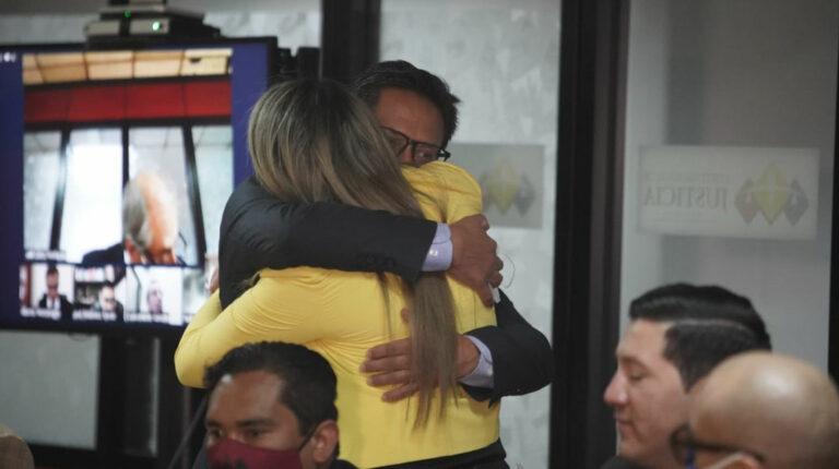 Ex defensor del Pueblo, Freddy Carrión, sentenciado a tres años de prisión