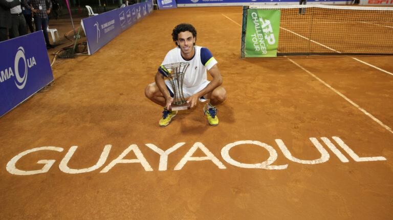 El Challenger de Guayaquil se jugará con público y dos tenistas top 100