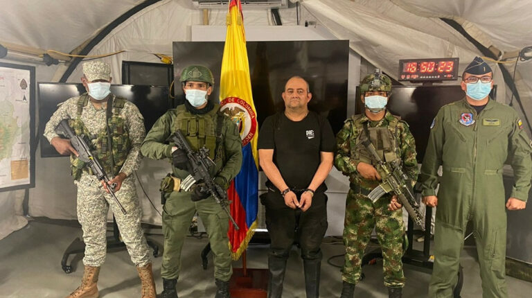 Cae 'Otoniel', jefe del Clan del Golfo y el narcotraficante más buscado de Colombia