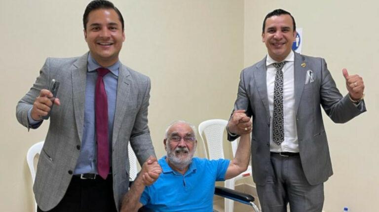 Profesor Vaca salió de la Penitenciaría gracias a un habeas corpus