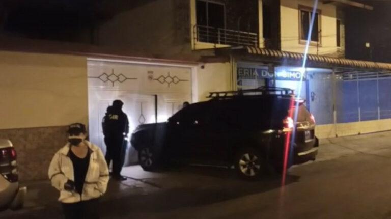 Policía desarticula banda de delincuencia organizada en Manta