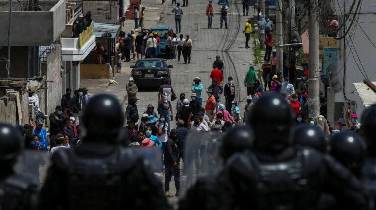 Las protestas se debilitan más, mientras Lasso anuncia un viaje a Europa