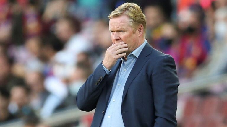 Ronald Koeman es destituido como entrenador del FC Barcelona